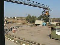 Аренда промышленных площадок на территории промбазы в Запорожье