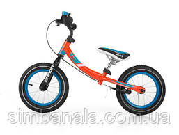 Детский беговел с поворотной рамой Milly Mally Young, Польша оранжевый