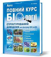 ЗНО | Повний курс біології. Структурований довідник, Соболь | Абетка