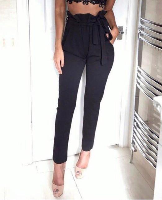 """Женские брюки с высокой талией """"Панни"""", фото 10"""