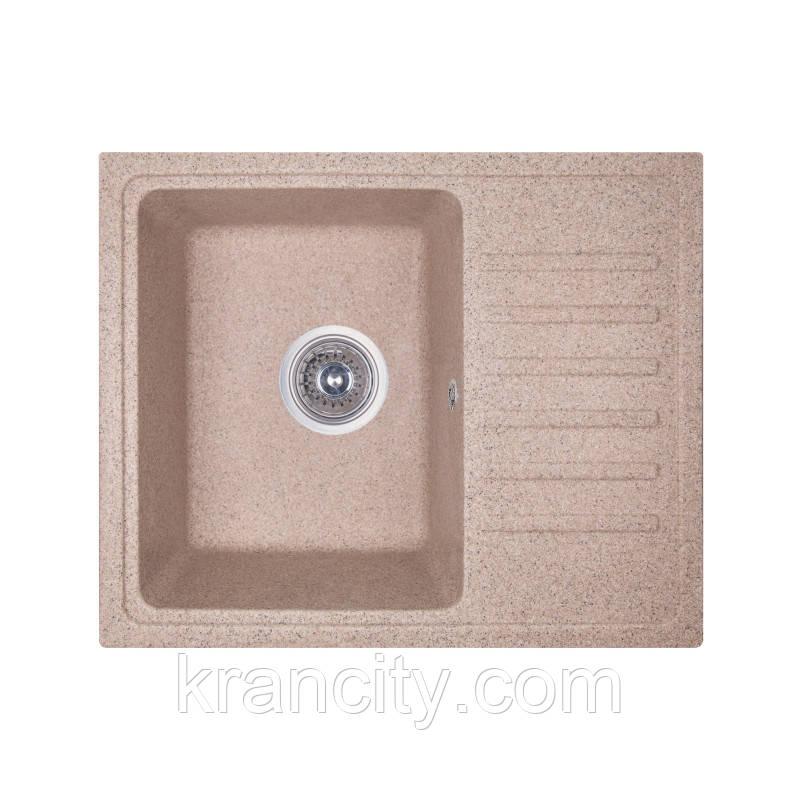 Кухонная мойка Fosto Мойка 55x46 SGA-300 (песок)