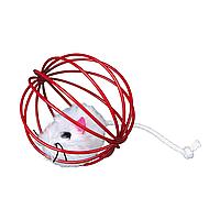 Игрушка для кошек Trixie Мяч с мышкой d=6 см (цвета в ассортименте)
