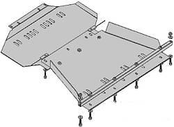 Защита двигателя и кпп Infiniti QX 56 2004-2010