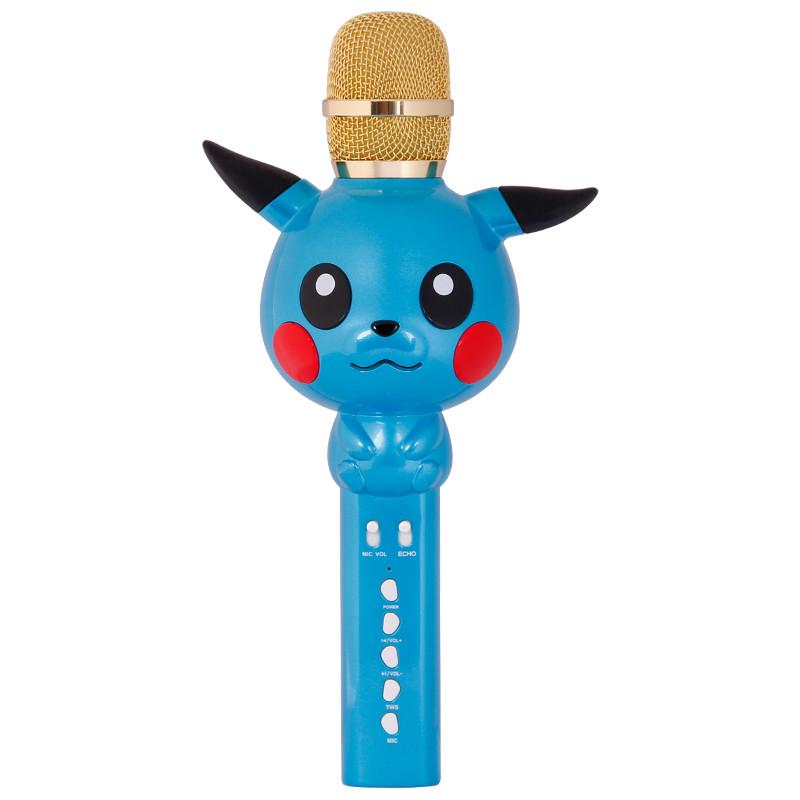 Дитячий бездротовий мікрофон SUNROZ KT03 для караоке Синій (SUN3701)