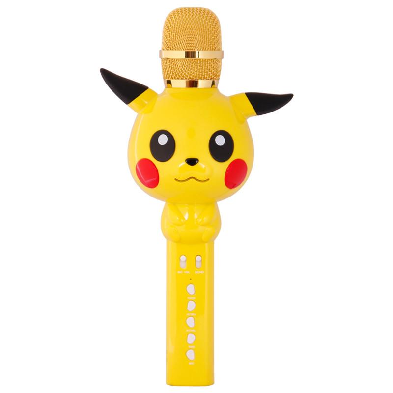 Дитячий бездротовий мікрофон SUNROZ KT03 для караоке Жовтий (SUN3702)