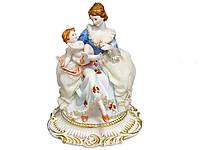 """Фарфоровая коллекционная статуэтка Lefard """"Мама с сыном"""" 101-005"""