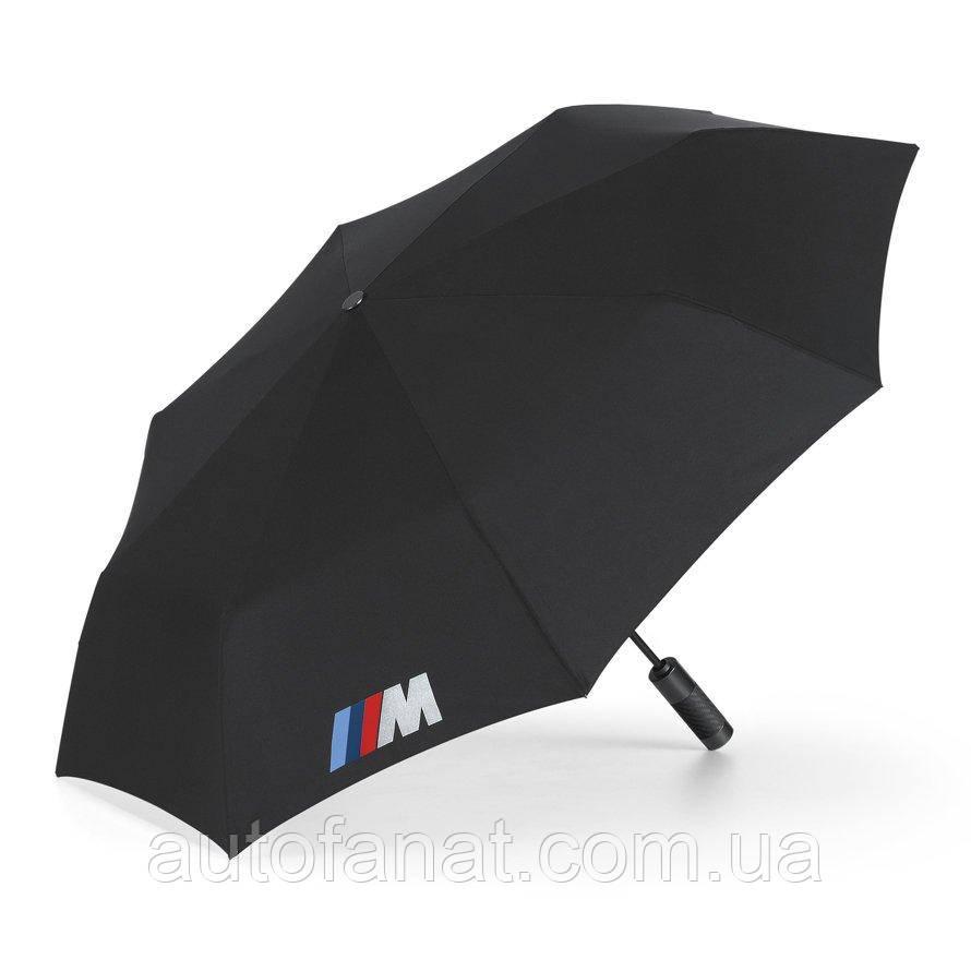 Cкладной зонт BMW M Folding Umbrella, оригинальный черный (80232410917)