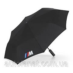 Оригинальный складной зонт BMW M Folding Umbrella, Black (80232410917)