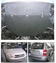 Защита двигателя и кпп  радиатора Kia Carnival 2006