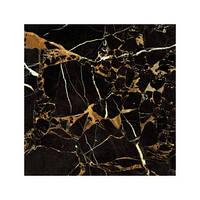 """Плитка для пола ТМ """"GoldenTile"""" Saint Laurent черный - 607*607"""