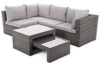 Комплект мебели из техноротанга MILANO серый