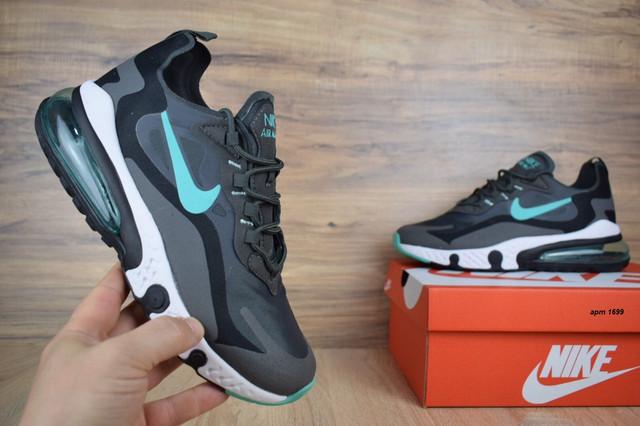 0b2e0a7e Кроссовки подростковые Nike Air Max 270 x React. Кроссовки НАЙК АИРМАКС.  Воздушная подушка дает «эффект пружины», добавляя больше упругости и  комфорта, ...