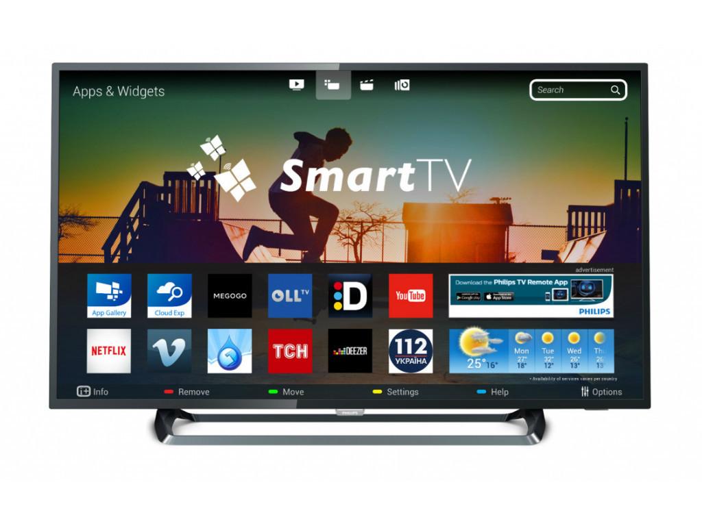 Телевизор Philips 43PUS6262/12 (PPI 900Гц, 4KUltraHD, Smart, Pixel Plus Ultra HD, Micro Dimming, DVB-С/T2/S2)
