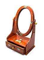 Шкатулка с зеркалом (29х19х11,5 см)(вьетнам)