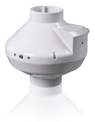 Вентс ВК 125 канальный пластиковый вентилятор