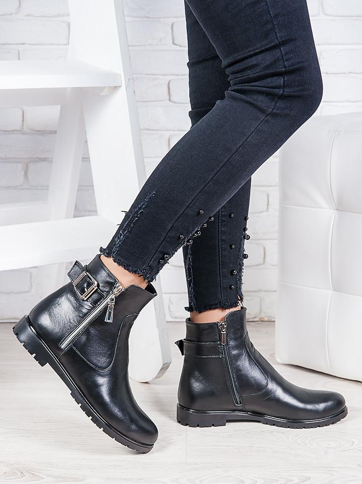 Ботинки кожаные Амалия 6858-28