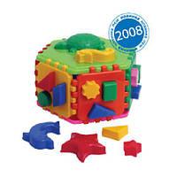 Развивающая игрушка Куб сортер Розумний малюк Гіппо ТехноК 2445