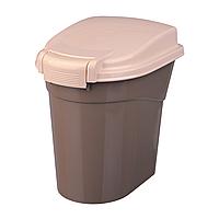 Контейнер для корма Trixie пластиковый 3,8 л / 19 см x 25 см x 25 см (коричневый)