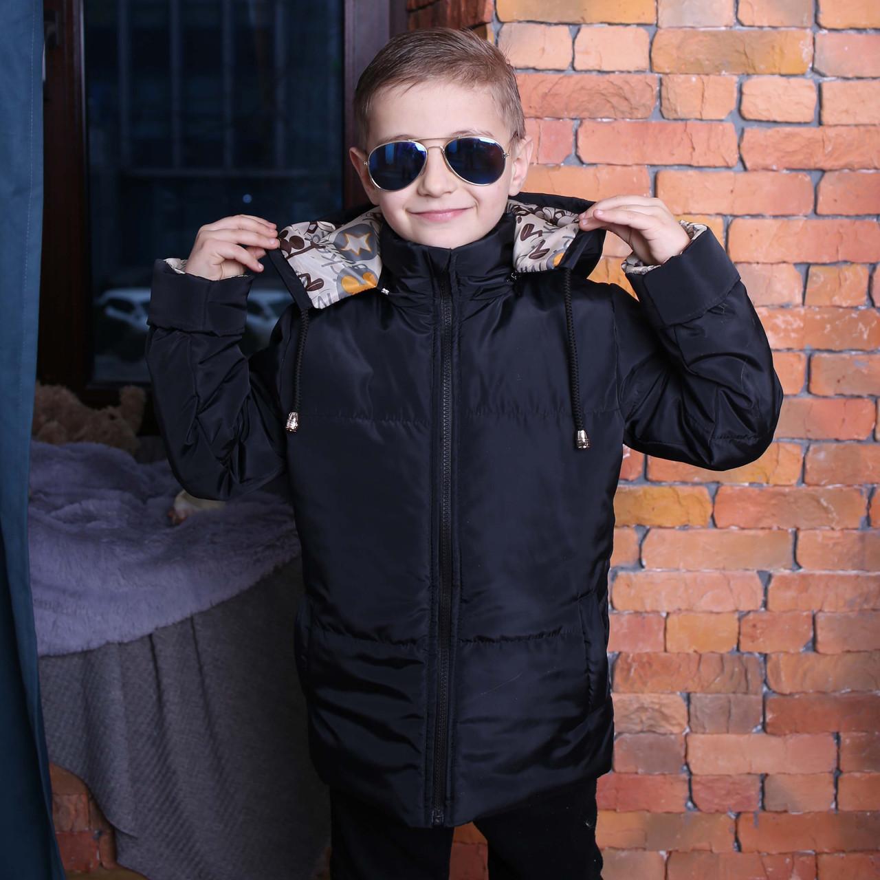 Подарок – сумка Куртка для мальчика с капюшоном Куртка на мальчика Новинка 2019 Топ продаж