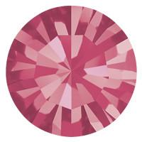 Пришивные стразы в цапах Preciosa (Чехия) ss16 Indian Pink/латунь