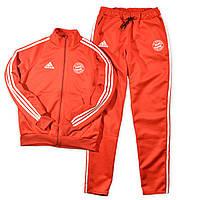 Мужской спортивный костюм, чоловічий костюм (эластика с лампасами) Adidas S375, Реплика
