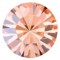 Пришивные стразы в цапах Preciosa (Чехия) ss16 Crystal Apricot/серебро