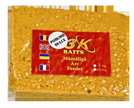 Мамалыга 3K Baits универсальная Сладкая кукуруза 0.5 кг.