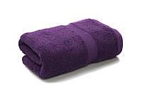Рушник махровий 400г/м2 темно-фіолетовий 50х90см