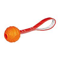 Игрушка для собак Trixie Мяч с ручкой «Soft & Strong» 26 см, d=6 см (термопластичная резина)