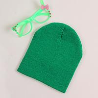 Детская теплая демисезонная шапка до года, фото 1