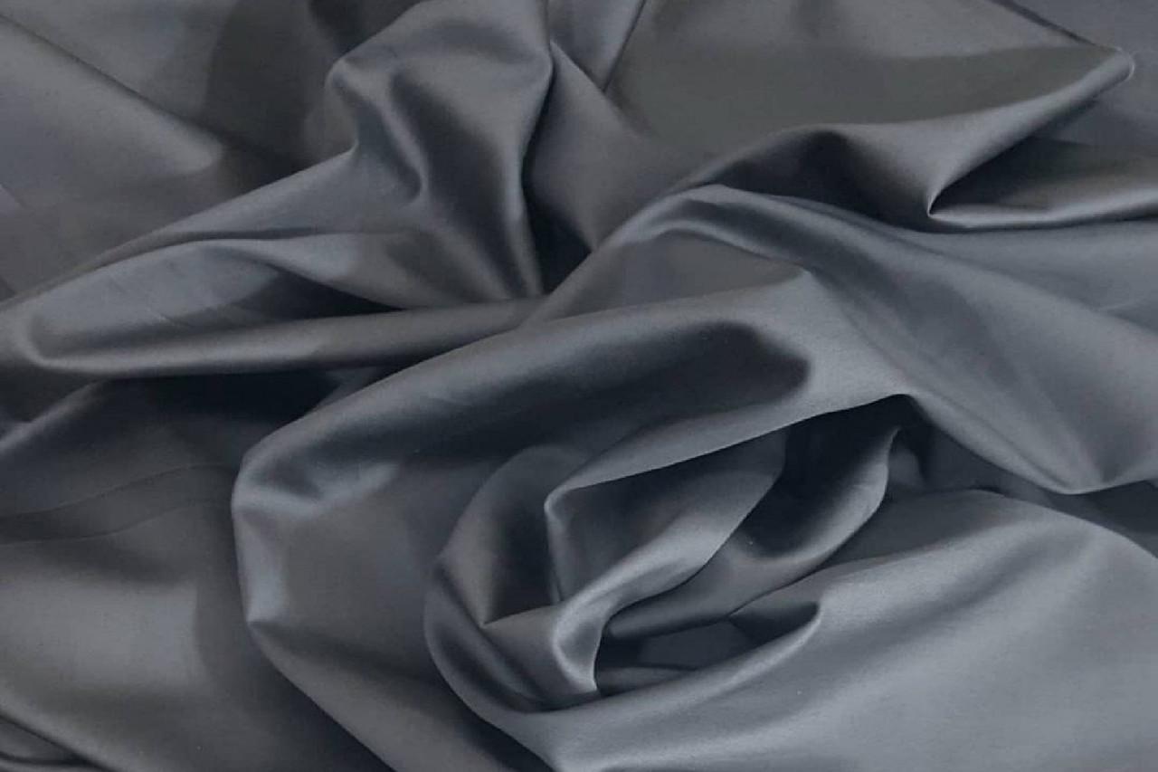 Сатин-твил Темно-серый