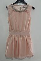 Шифоновое платье для девочек 4 года