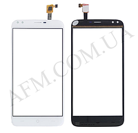 Сенсор (Touch screen) Doogee X30 белый