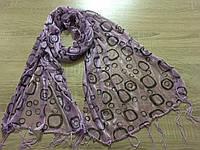 Шарфы, шарфики на голову и на шею 150*45 см