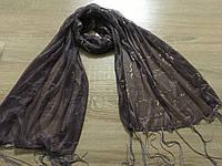 Шарфы, Цветные красивые шарфы с висюлями