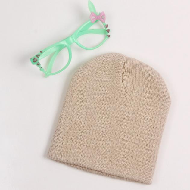 Детская теплая демисезонная шапка до года