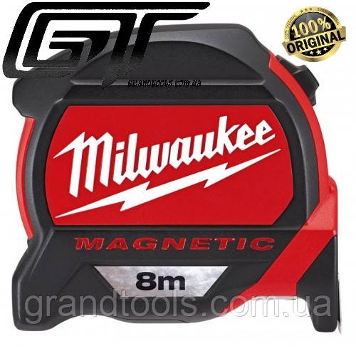 Рулетка Milwaukee Magnetic Tape Premium 8 м # 48227308
