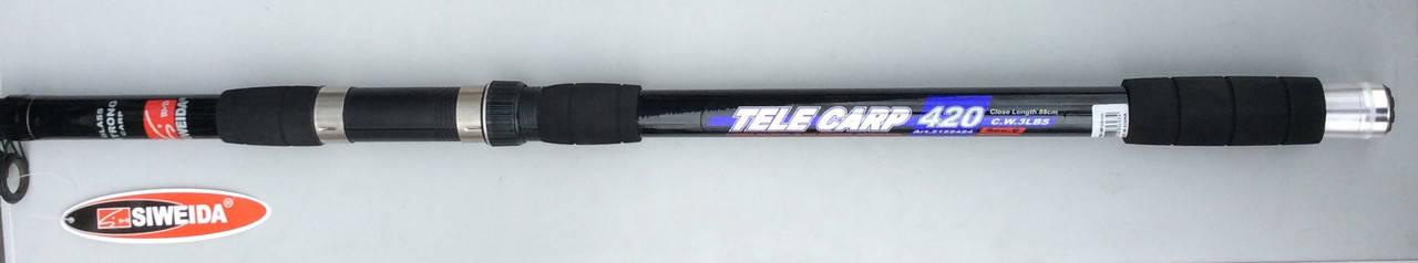 Спиннинг телескоп SWD Tele Carp 3.9м, 3LBS, фото 2