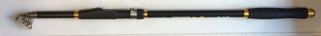 Спиннинг телескопический CONQUEROR 2.1m 40-80g, фото 2