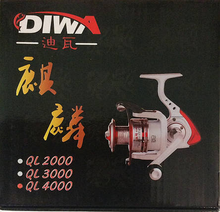 Катушка DIWA QL3000 12+1bb, фото 2