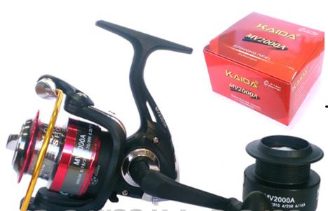 Рыболовная катушка Kaida MV 3000A 5+1bb, фото 2