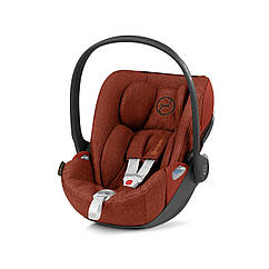 Автокресло Cybex Cloud Z i-Size Plus Autumn Gold burnt red PU2