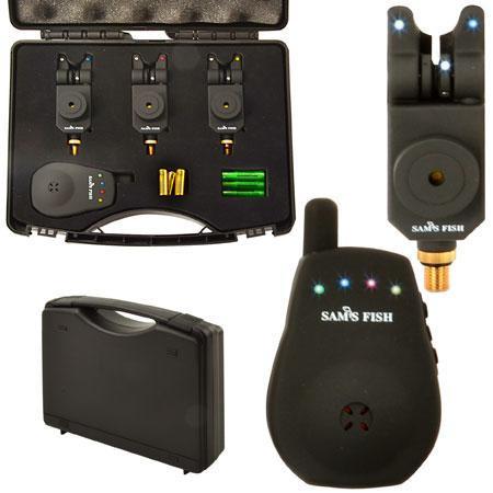 Набор сигнализаторов в кейсе SAMS FISH (с пейджером) 3+1