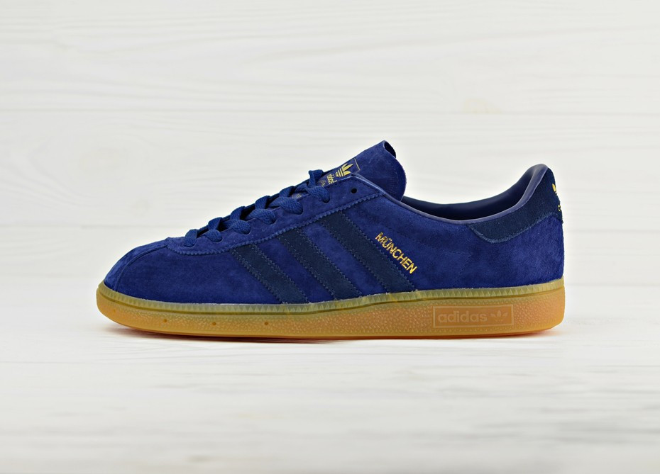 053270b2 Мужские кроссовки adidas Originals Munchen - Dark Blue/Navy/Gum 44.5 BB5294  - Магазин