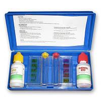 Тестер для определения уровня PH и хлора, тестер капельный Cl и pH