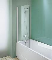 Шторка на ванну 77 см распашная Kolpa-San Sole TP 77/K стекло прозрачное