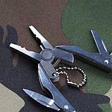 Набор инструментов мультитул складной туристический (плоскогубцы, нож, отвертка), фото 5