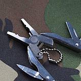 Набор инструментов мультитул складной туристический (плоскогубцы, нож, отвертка), фото 10