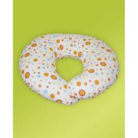 Подушка для беременных и кормления грудью 65х65 см бязь наполнитель силикон ТМ Медисон Украина
