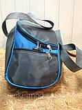 Сумка спортивная Adidas только ОПТ (серый)/Женская спортивная сумка, фото 2